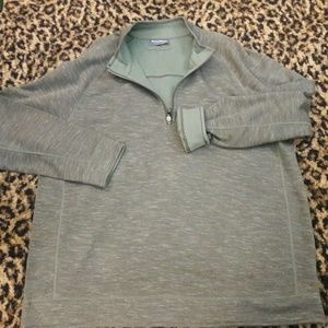 Tommy Bahama Reversible Green Gray Sweatshirt XL